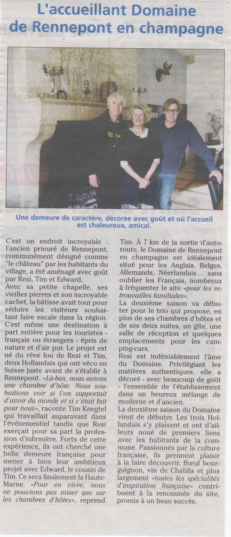 article journal de la haute marne 25 02 2016